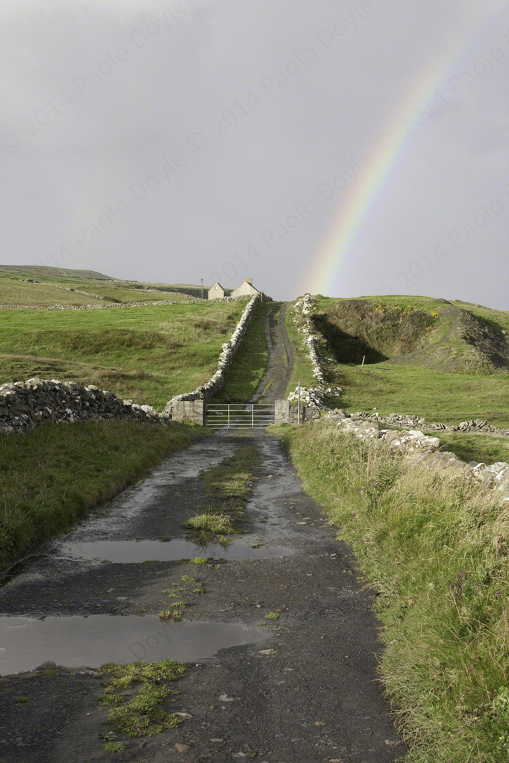 Paolo Doyle - The old road to Moher, Doolin, Co. Clare.